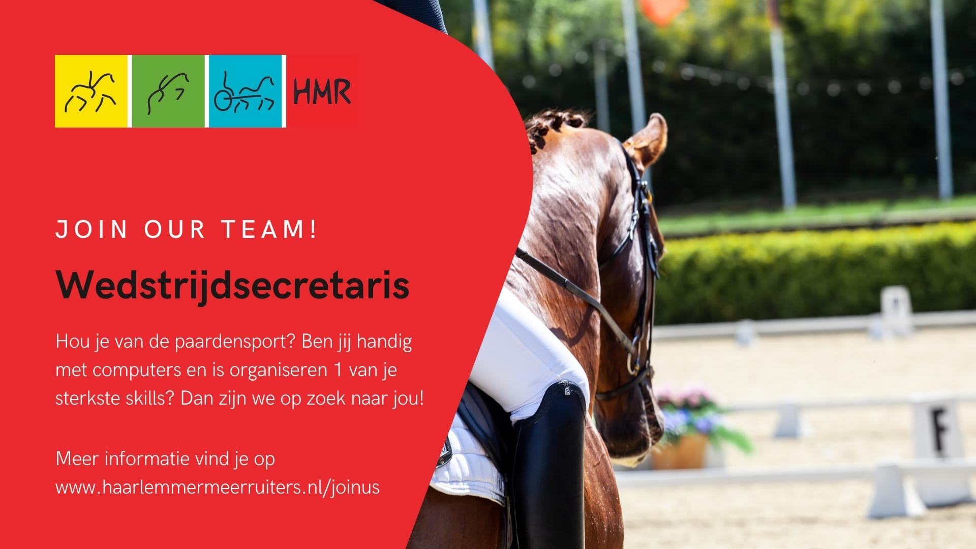 211005 join our team wedstrijdsecretaris